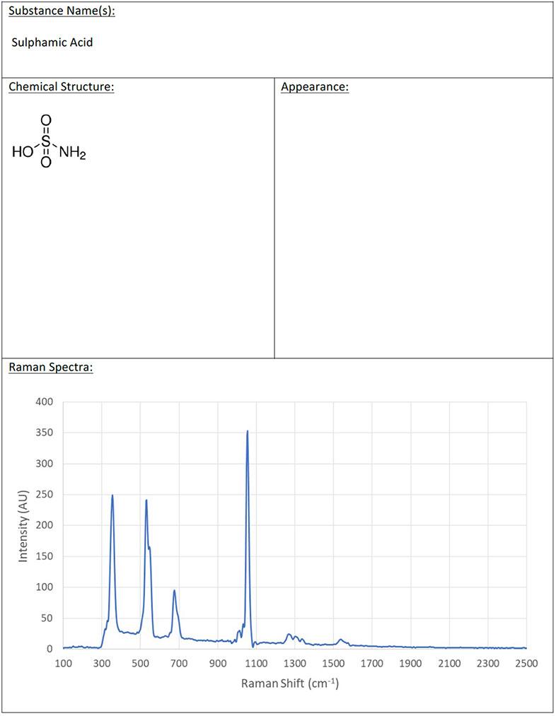 03-ISI RAMAN CHEMICAL DATABASE